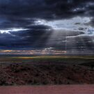 Mundi Mundi Sunlight by Rod Wilkinson