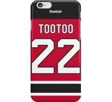 New Jersey Devils Jordin Tootoo Jersey Back Phone Case iPhone Case/Skin