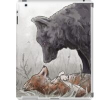 Wolf and Fox iPad Case/Skin