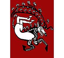 Scythian Antlers Tee Photographic Print