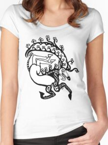 Scythian Antlers Tee Women's Fitted Scoop T-Shirt