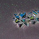 Christmas:  Solarized Silver Stars by Jen Waltmon