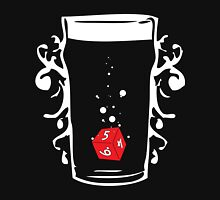 Poured Games (white) - Beer and Board Games Unisex T-Shirt