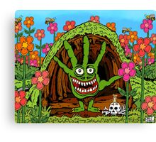 Refrigerator Door Series 5 (The Wee Parsons) Canvas Print