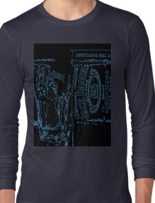 Neon JD old no7  Long Sleeve T-Shirt