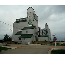 Prairie View Elevator Photographic Print