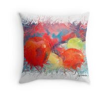 Fruit in Life Throw Pillow