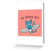 Tongue Roll Greeting Card