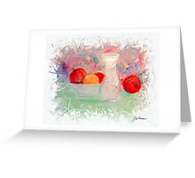 Fruit Siesta Greeting Card