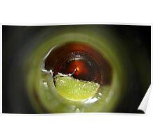 cerveza lime II Poster