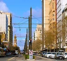 King William Street, Adelaide by Ali Brown