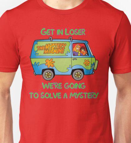 Mean Mystery Girls Unisex T-Shirt