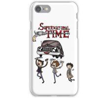 Supernatural Time iPhone Case/Skin