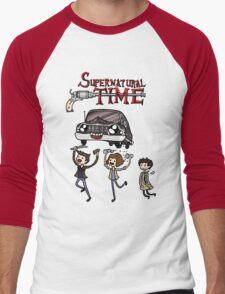 Supernatural Time Men's Baseball ¾ T-Shirt