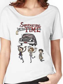 Supernatural Time Women's Relaxed Fit T-Shirt