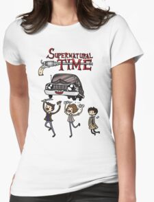 Supernatural Time Womens Fitted T-Shirt