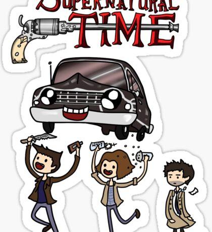 Supernatural Time Sticker