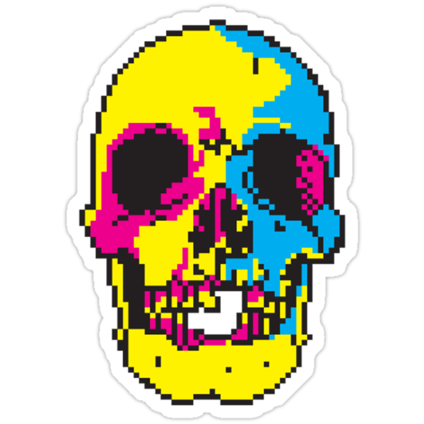 Dead Pixels by Vincent Poke