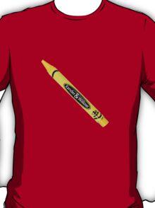 Buffy the Vampire Slayer - Yellow Crayon T-Shirt