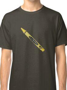 Buffy the Vampire Slayer - Yellow Crayon Classic T-Shirt