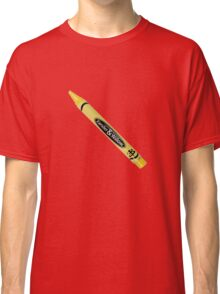 Buffy the Vampire Slayer - Yellow Crayon Classic T-Shirt