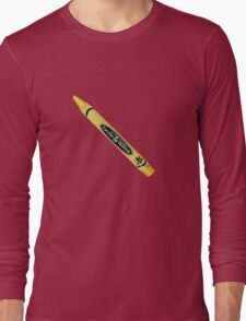Buffy the Vampire Slayer - Yellow Crayon Long Sleeve T-Shirt