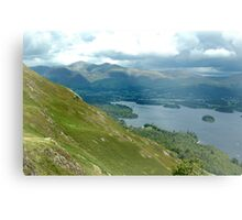 Keswick seen from Catbells Metal Print