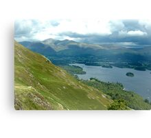 Keswick seen from Catbells Canvas Print