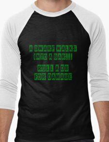 A Dwarf walks into a bar... Men's Baseball ¾ T-Shirt