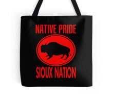 NATIVE PRIDE-SIOUX NATION Tote Bag