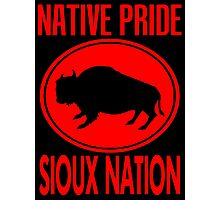 NATIVE PRIDE-SIOUX NATION Photographic Print