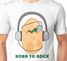 Rockin Dino Egg Unisex T-Shirt