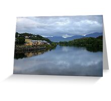 Killorglin County Kerry Ireland Greeting Card