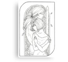 Lovers - Tarot Card Canvas Print