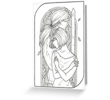Lovers - Tarot Card Greeting Card