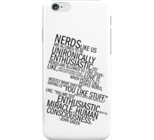 Nerds Like Us iPhone Case/Skin