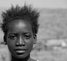 Township girl by Patrick Lemmens
