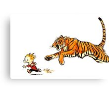 hobbes more real Canvas Print