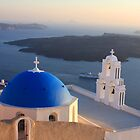 Romantic Santorini Sunset by kelliejane