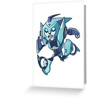 Blurr Transformers Animated Greeting Card