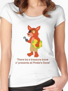 Treasure Trove in Pirate's Cove Women's Fitted Scoop T-Shirt