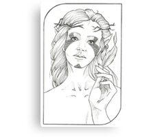 Fool - Tarot Card Canvas Print