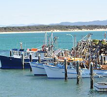 Fishing Trawlers Waiting to Sail by Brandie1