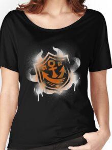 Splatoon Inspired: Graffiti Ranked Battle Icon(White) Women's Relaxed Fit T-Shirt
