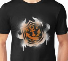 Splatoon Inspired: Graffiti Ranked Battle Icon(White) Unisex T-Shirt