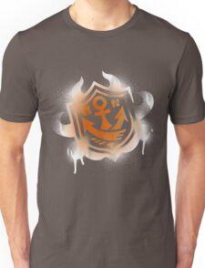 Splatoon Inspired: Graffiti Ranked Battle Icon(White) Unisex T-Shirt