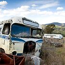 Graveyard of Buses #1 by Mark Elshout