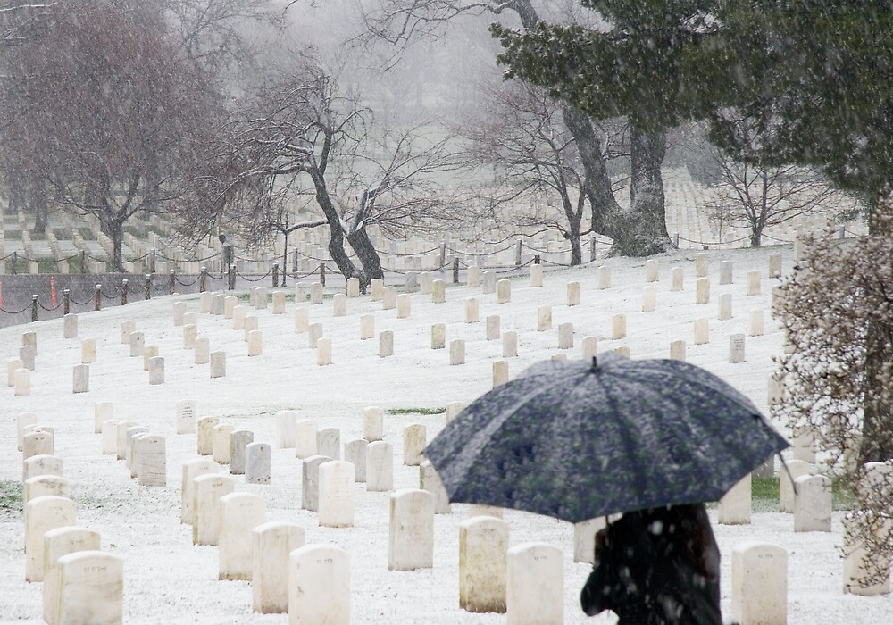 Arlington National Cemetery by mikeleblanc