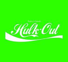 Enjoy Smash, Hulk-Out Logo by Henry Leib