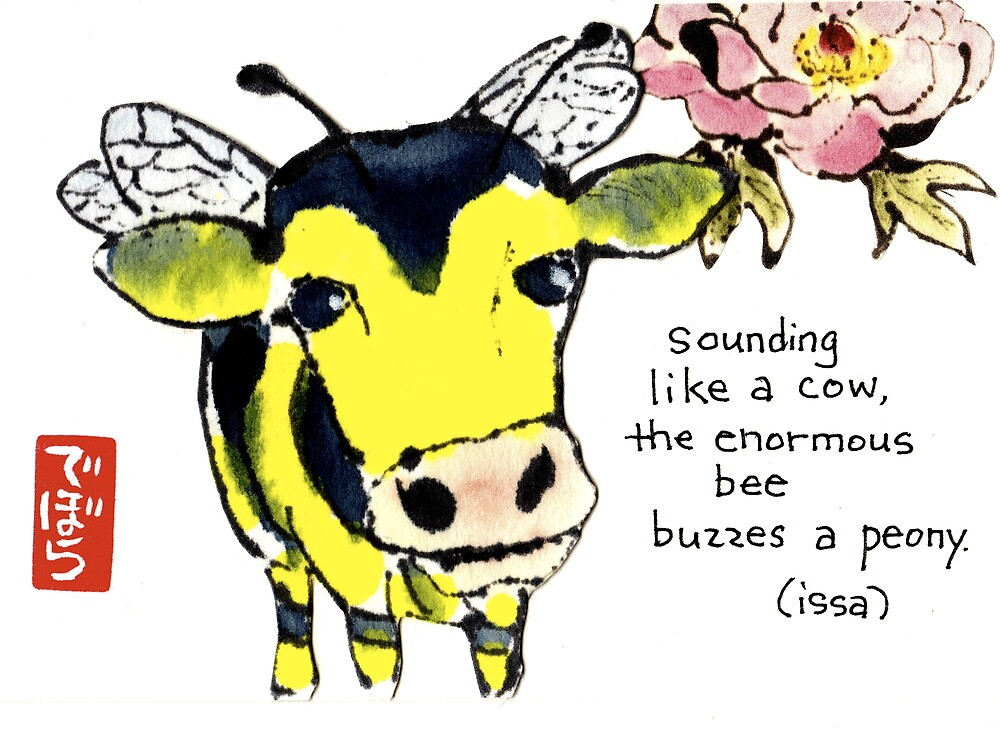 Cow Bee by dosankodebbie